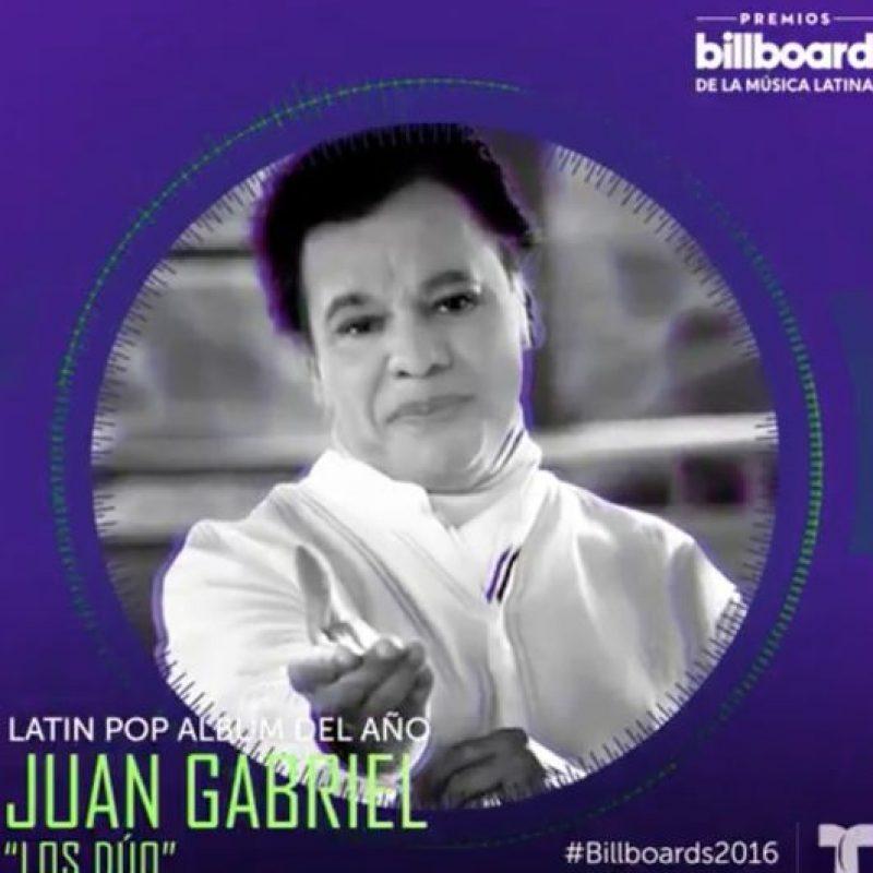 Juan Gabriel Foto:Vía Twitter/Billboard