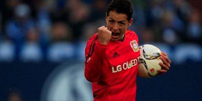 El mexicano suma 17 goles en la Bundesliga. Foto:Getty Images