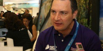 Miguel Ángel Cantú, director de la Corporación para el Desarrollo Turístico Foto: Jorge Puente