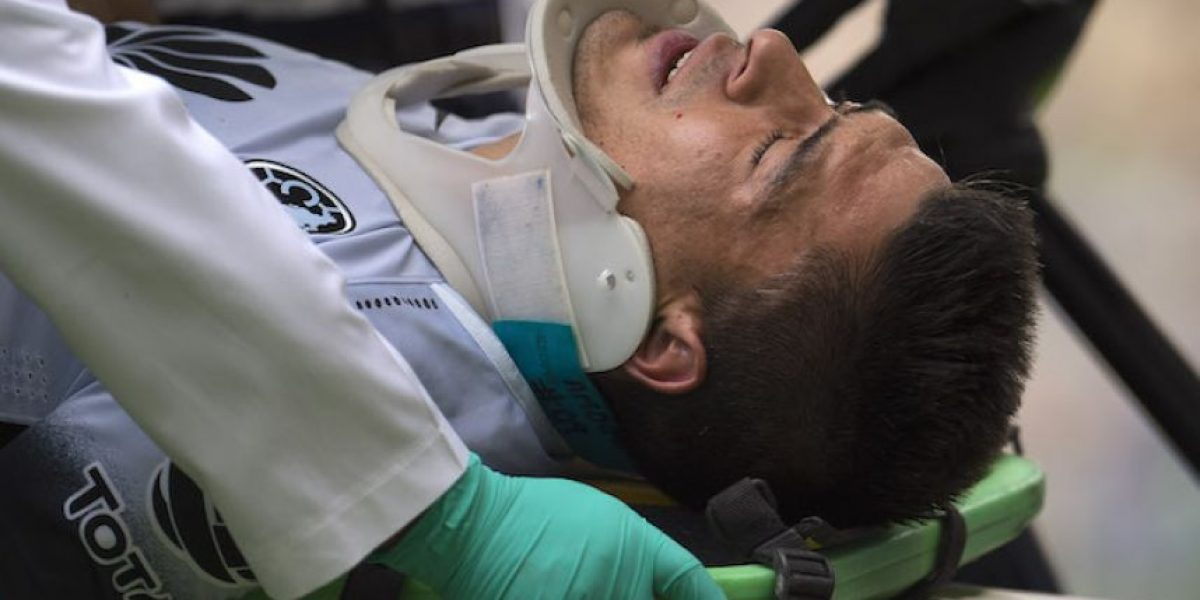 VIDEO: Así fue la patada en la cara que mandó a Paolo Goltz al hospital