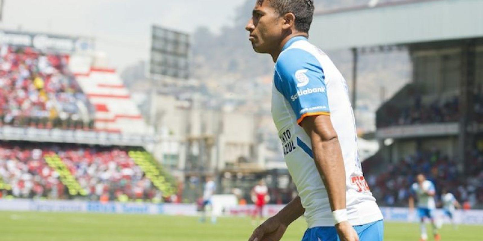 Joao Rojas sorprendió a Talavera al 1′ de juego y Cruz Azul derrota parcialmente a Toluca. Foto:Publisport