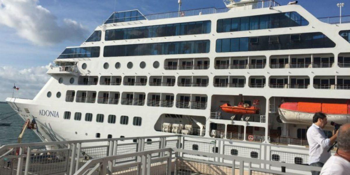 Zarpa primer crucero de EU a Cuba en más de 50 años