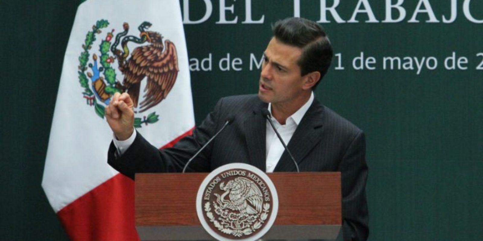 Peña Nieto habló de la iniciativa de reforma en materia de justicia laboral que envió el 28 de abril pasado. Foto:Notimex