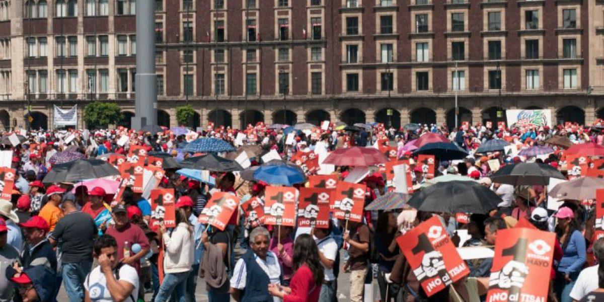 Concluyen con saldo blanco marchas por Día del Trabajo en la CDMX