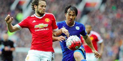 Los goles llegaron por cuenta de Martial y Morgan. Foto:Getty Images