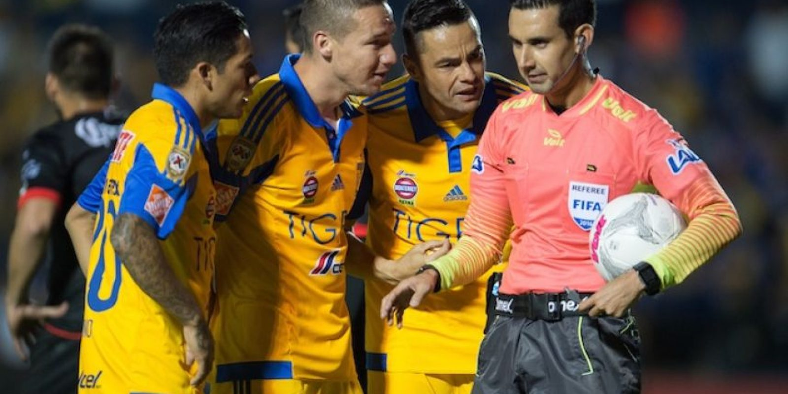 César Arturo Ramos durante un encuentro de Liga MX. Foto:Mexsport