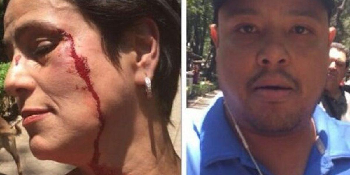 #LordPopó golpea a actriz en Parque México, en la Condesa