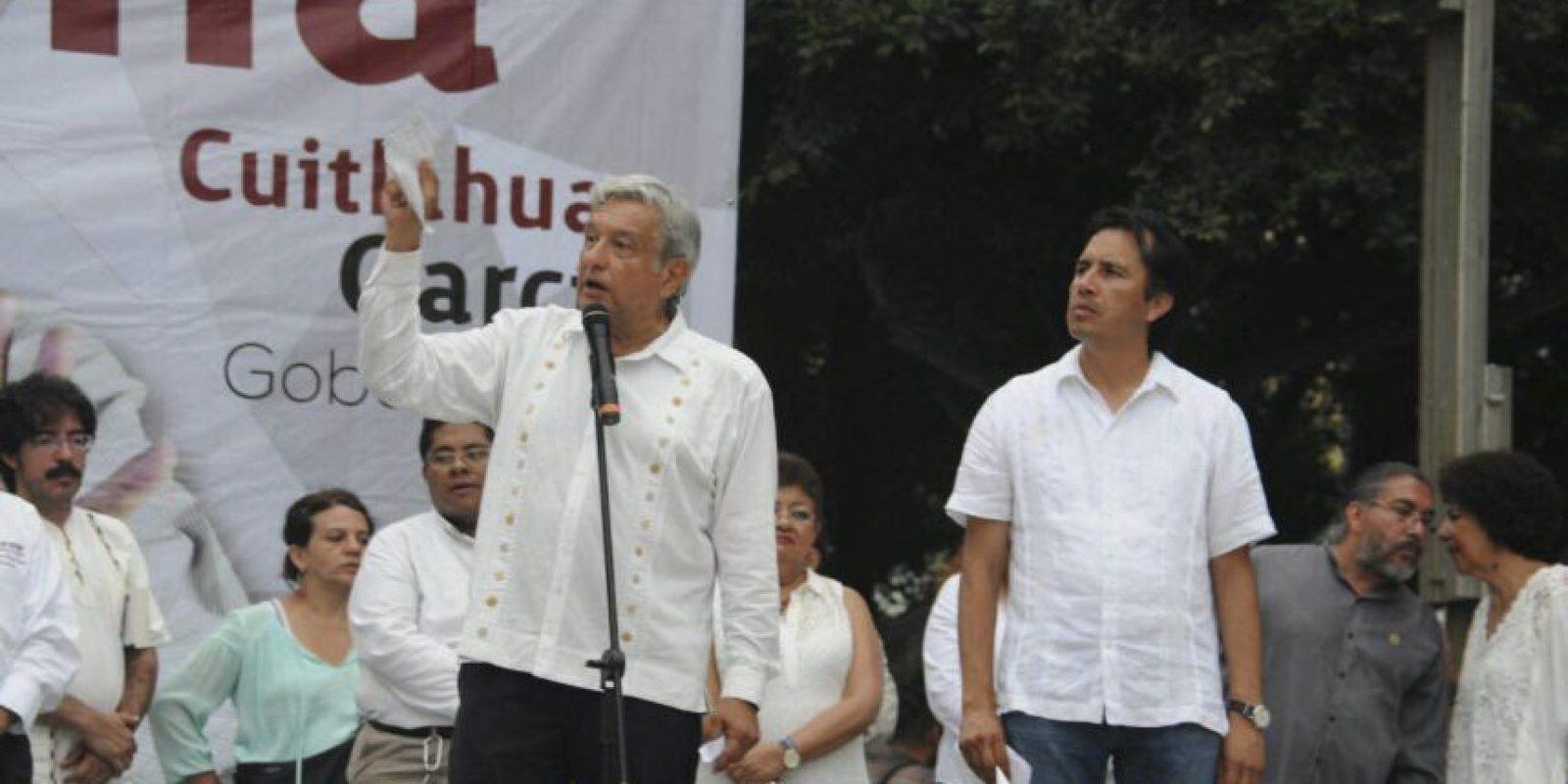 El candidato de Morena ha sido respaldado en reiteradas ocasiones por AMLO Foto:cuartoscuro