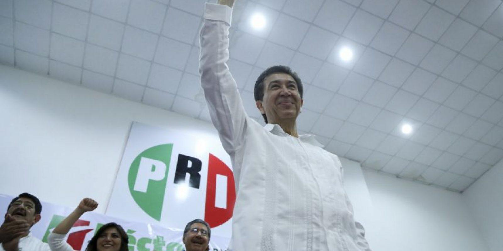 El candidato priista se ubica en segundo lugar Foto:cuartoscuro