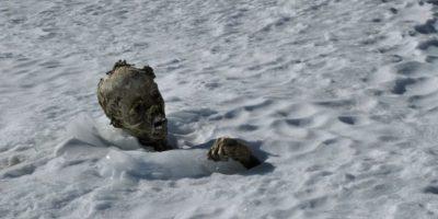 Este caso recuerda a los alpinistas momificados en el Pico de Orizaba, México Foto:AFP