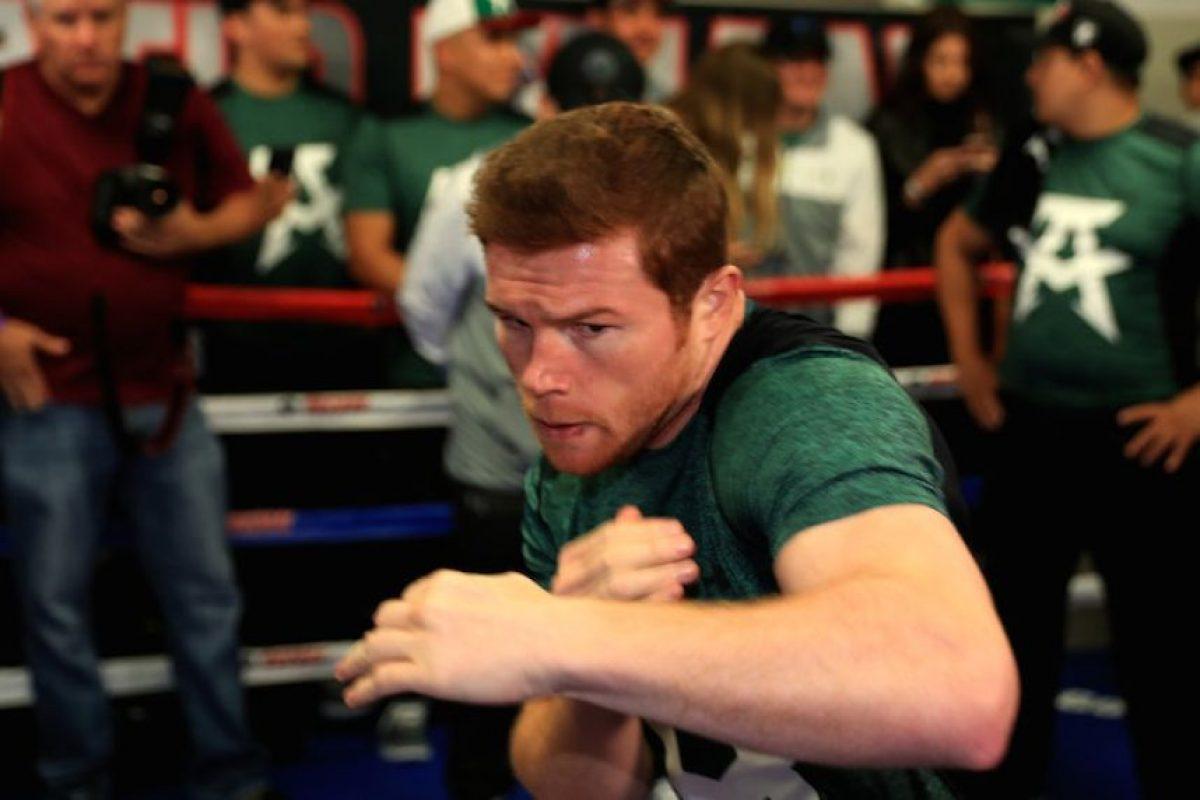"""VIDEO: Revive las 10 últimas peleas del """"Canelo"""" Álvarez Foto:Getty Images"""