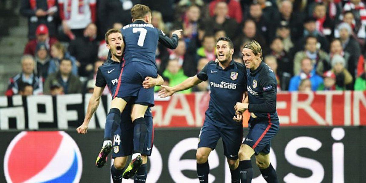 Atlético de Madrid es el primer finalista de la Champions League