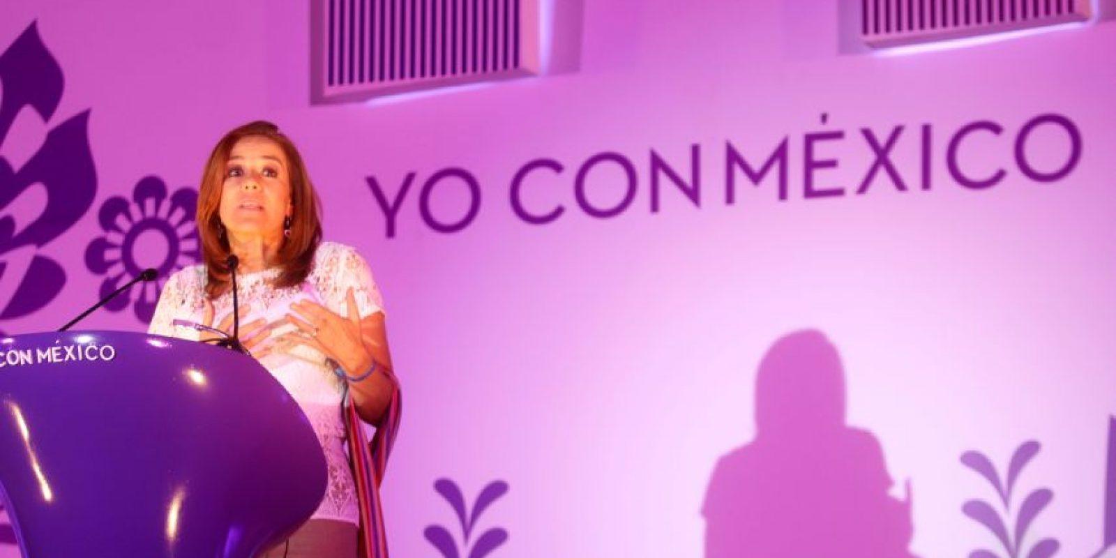 La ex primera dama busca ser la candidata del PAN en las próximas elecciones Foto:cuartoscuro