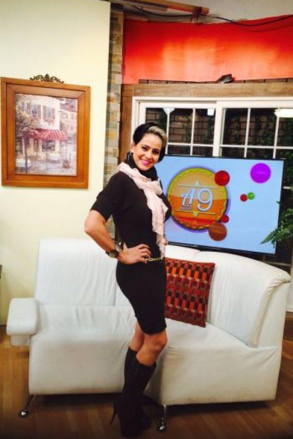 "Actualmente es conductora del programa matutino llamado ""A las 9"" Foto:twitter.com/americagabriell/"
