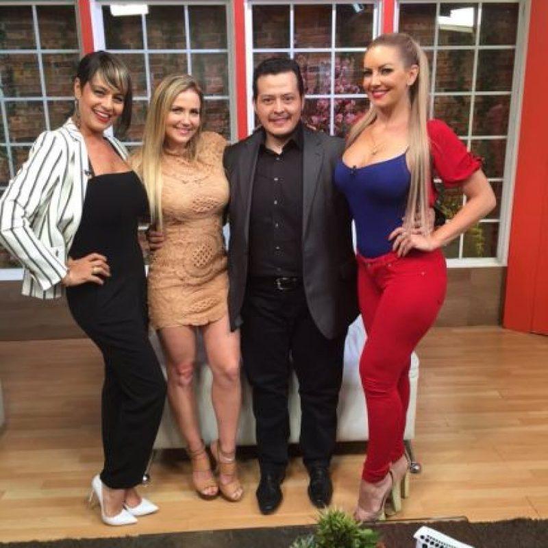 En México ha participado en producciones de TV Azteca Foto:twitter.com/americagabriell/