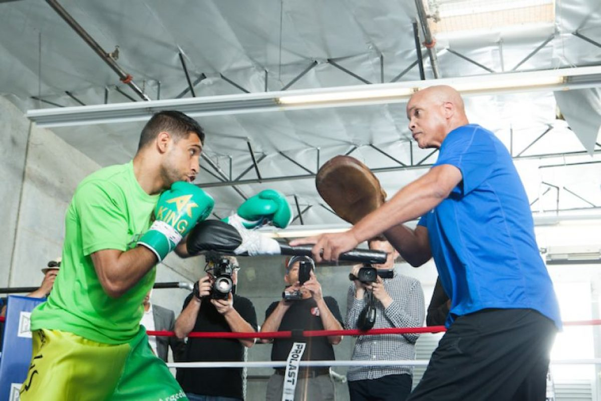 "¿Quién es Amir Khan, rival del ""Canelo"" Álvarez? Foto:Getty Images"