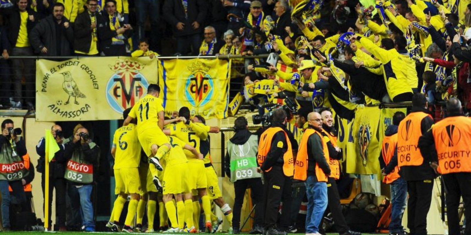 El Villarreal sacó una mínima ventaja en el Estadio Madrigal Foto:Getty Images