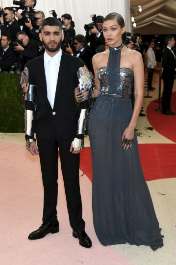 Se dijo que ella ayuda en el diseño del vestido Foto:Getty Images