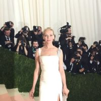 Uma Thurman. Simple. ¿Y el tema qué? Foto: vía Getty Images