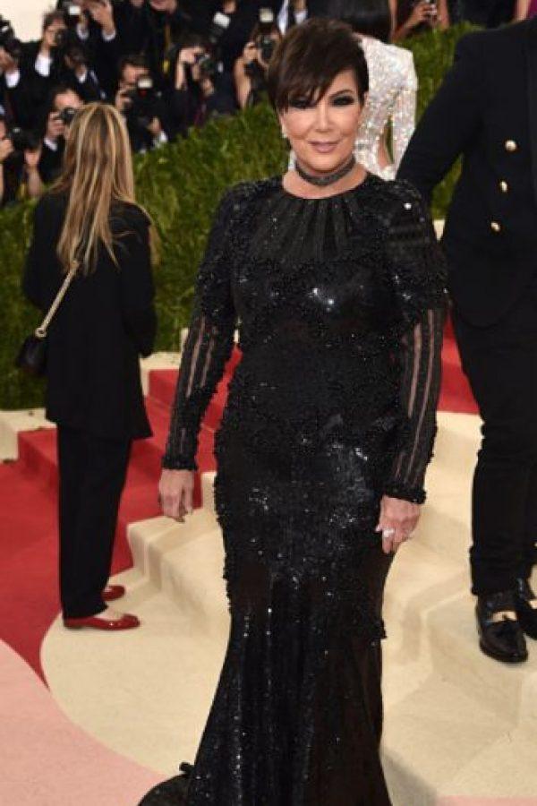 Por su vestido negro. Parecía Maléfica. Foto:vía Getty Images