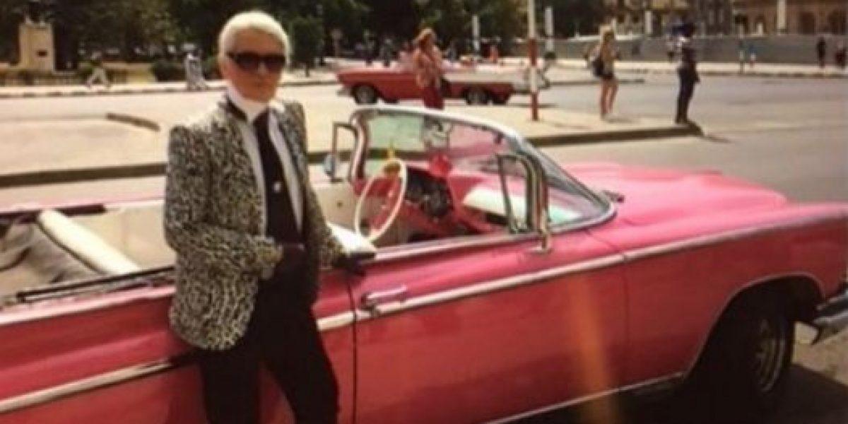 Histórico: Karl Lagerfeld presentará el primer desfile de Chanel en Cuba