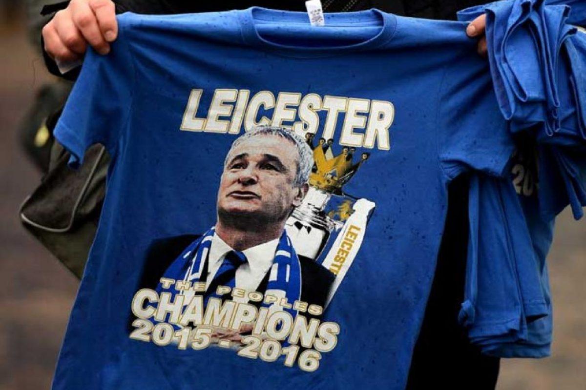 """Conozcan a los futbolistas """"desconocidos"""" que le dieron el título al Leicester City. Foto:Getty Images"""