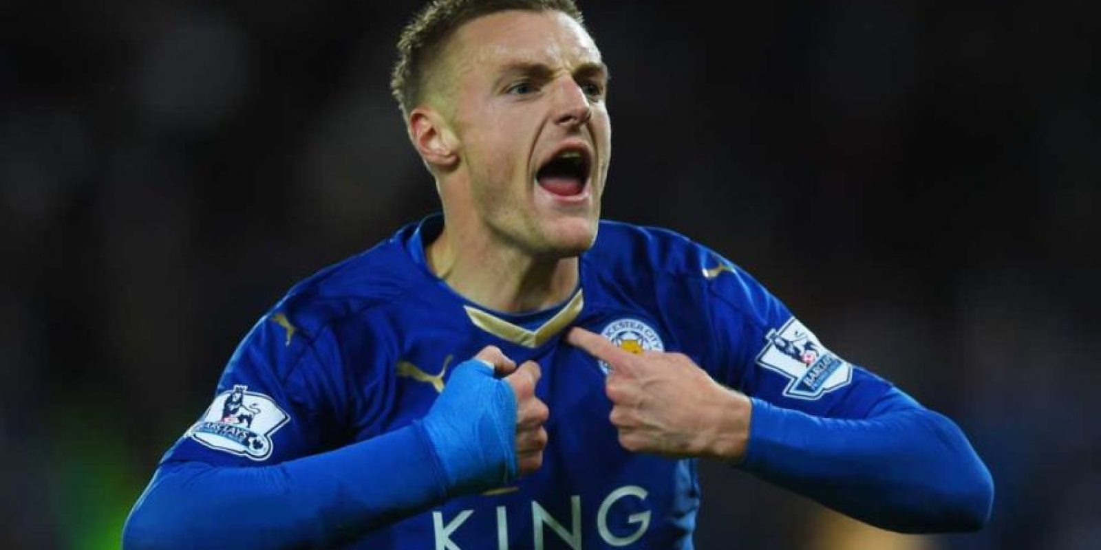 GOLEADOR: Jamie Vardy Foto: Getty Images