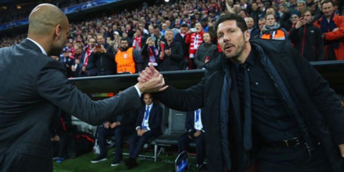 Diego Simeone se roba el show en el Bayern-Atlético