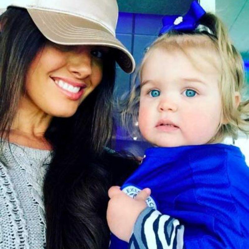 Con quien tiene una hija. Foto:Vía instagram.com/beckyvardy