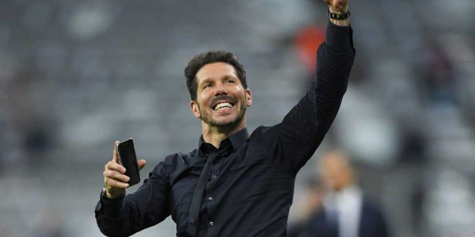 Y por fin pudo celebrar. Foto:Vía twitter.com/Atleti