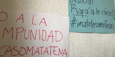 Ya ha habido manifestaciones para que se castigue al presunto abusador. Foto:Facebook Abuso Montessori Matatena