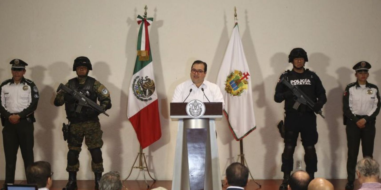 El gobernador de Veracruz afirma que tuvo varias reuniones con Yunes Linares Foto:cuartoscuro/archivo