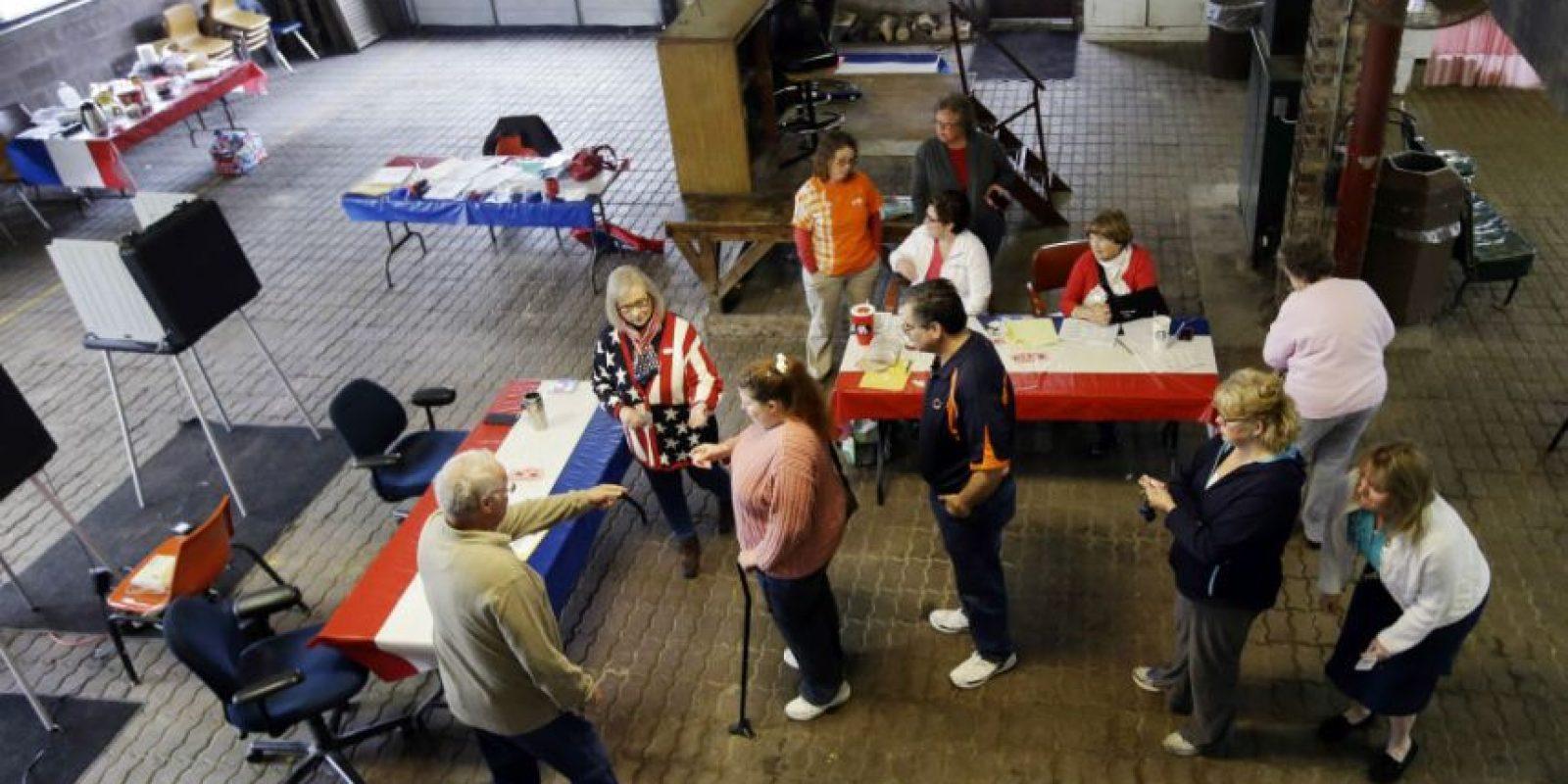 Faltan los resultados demócratas Foto:AP