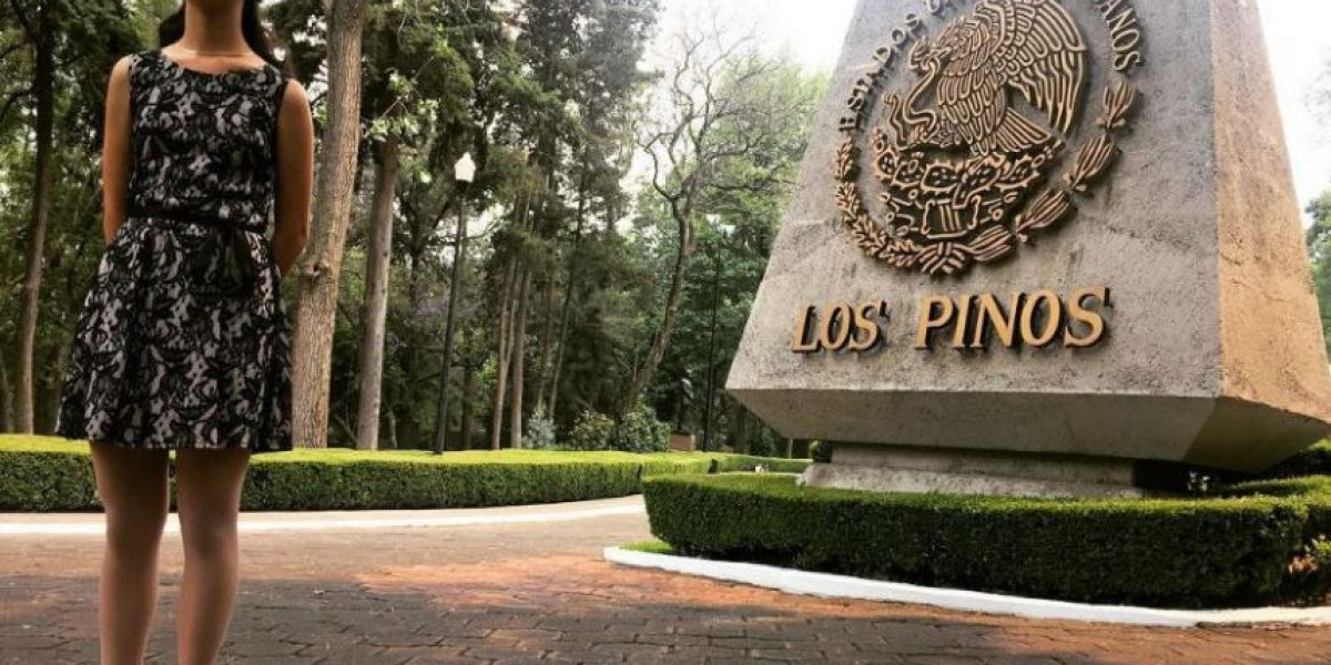 #LadyMatemáticas visitó Los Pinos