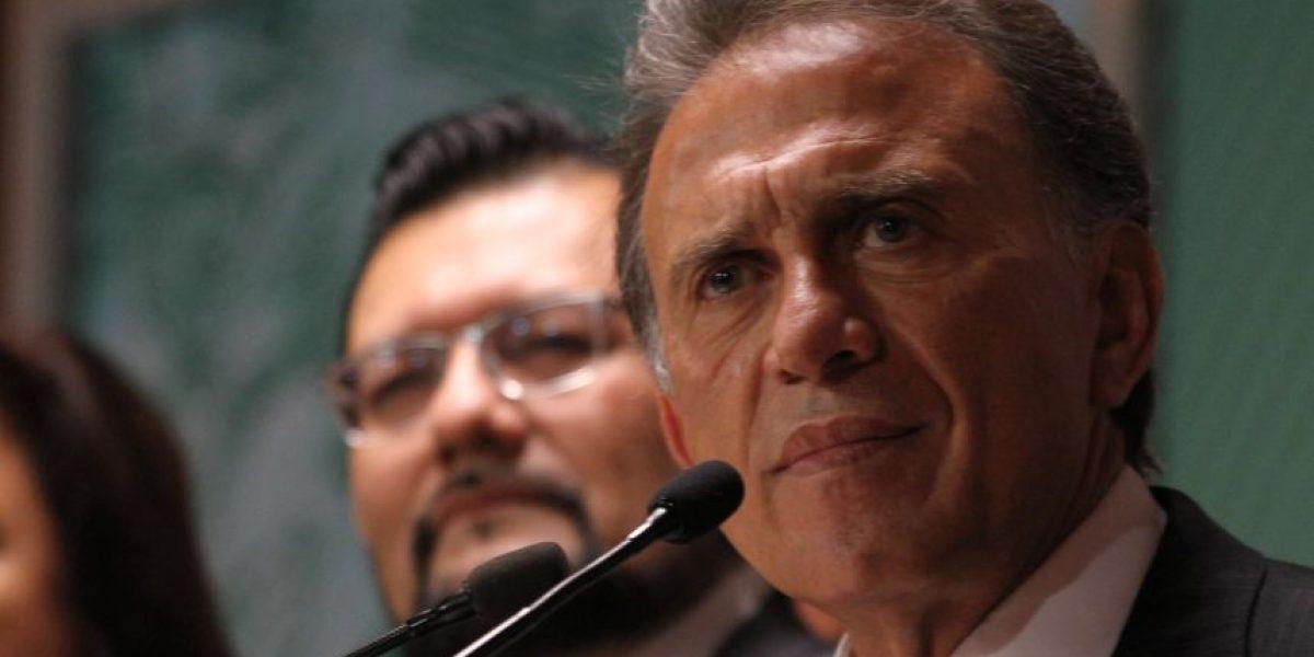 Yunes Linares niega reuniones con Javier Duarte