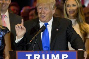 Tras el retiro de Cruz, Trump aseguró que será el ganador de las elecciones en noviembre donde posiblemente se enfrentará contra Hillary Clinton. Foto:AP