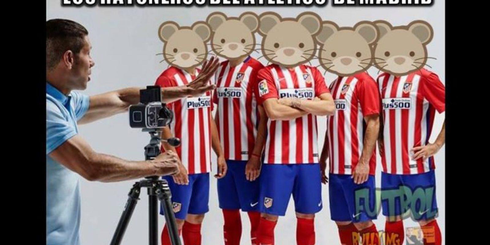 Las críticas a la táctica del Atlético no tardaron en llegar. Foto:Vía facebook.com