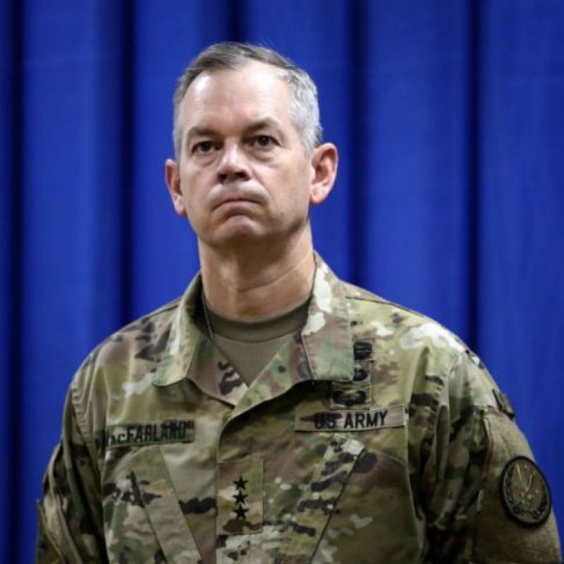 Sean MacFarland. General del Ejército de Estados Unidos. Foto: Getty Images