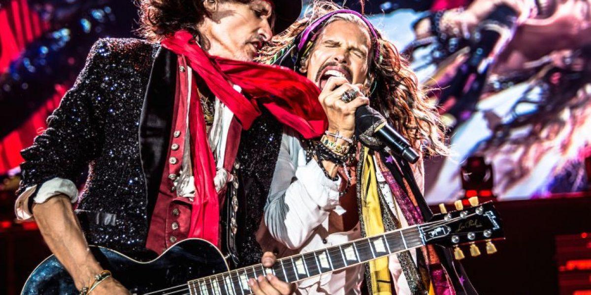 Aerosmith anuncia concierto en México por última vez