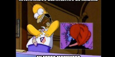Pero al final en el Atlético rieron… Foto:memedeportes.com