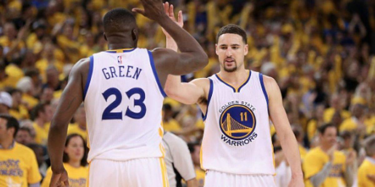 Sin Curry, Warriors toma ventaja 2-0 sobre Blazers