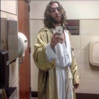 "Michael Grant se hace llamar ""Philly Jesus"". Foto: twitter.com/phillyjesus"