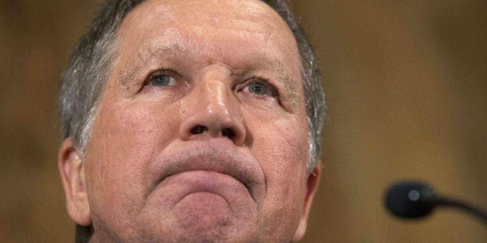 Ahora que sus contendientes se bajaran de la carrera electoral primero Cruz y luego Kasich Foto:AP