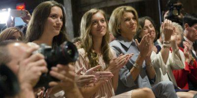 Las hijas y la esposa del gobernador de Ohio Foto:AP