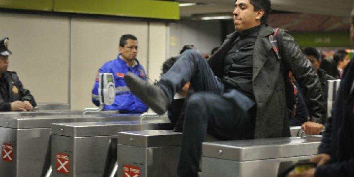 #PosMeSalto, principal causa de detenciones en el Metro