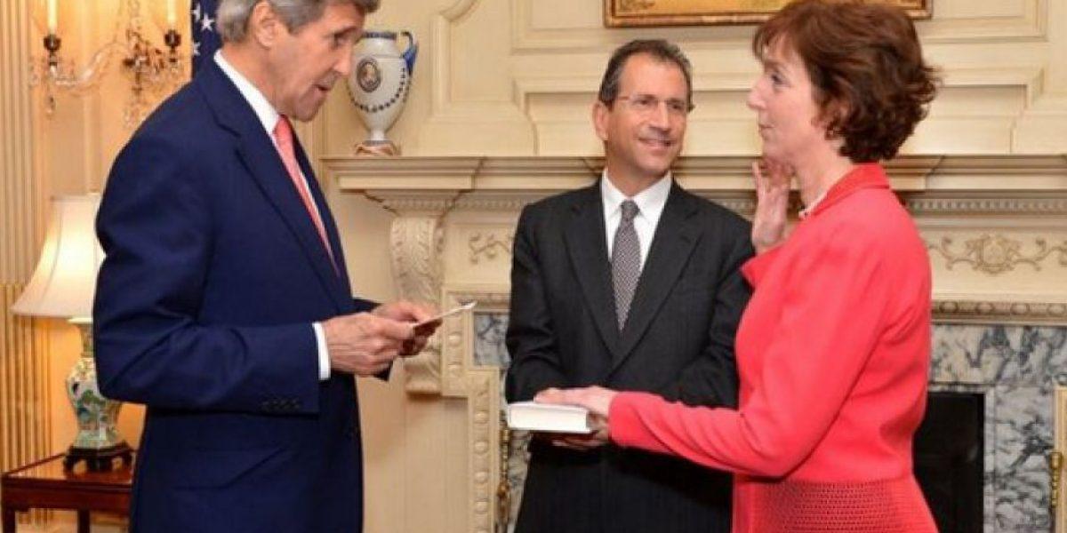 Roberta Jacobson jura como nueva embajadora de EU en México