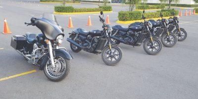 El modelo Street 750 nos ayudó a maniobrar con ligereza. Foto:Harley-Davidson