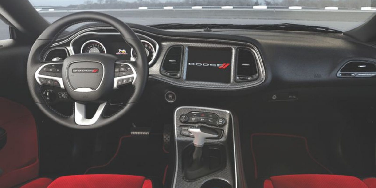 Así se ve el interior. Foto: Dodge