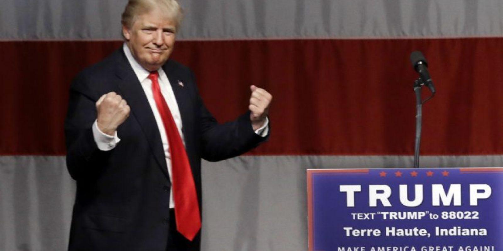 Donald Trump tiene un camino despejado rumbo a la nominación republicana a la presidencia, pero aún requiere trabajar para asegurarla. Foto:AP