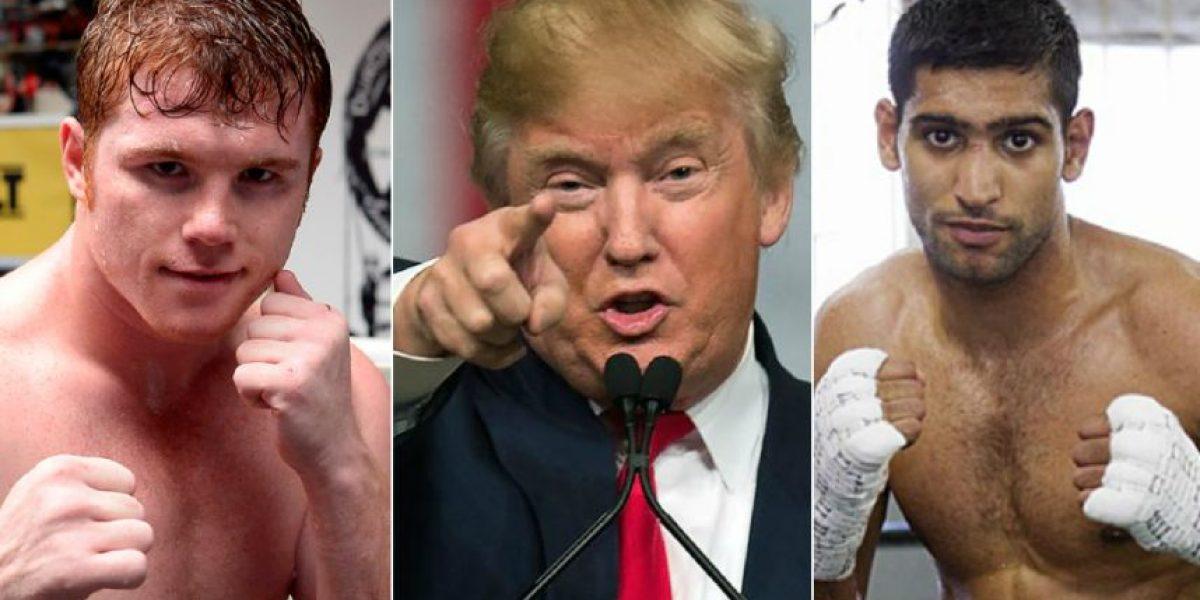 Donald Trump asistirá a la pelea del